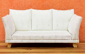 Assembled sofa